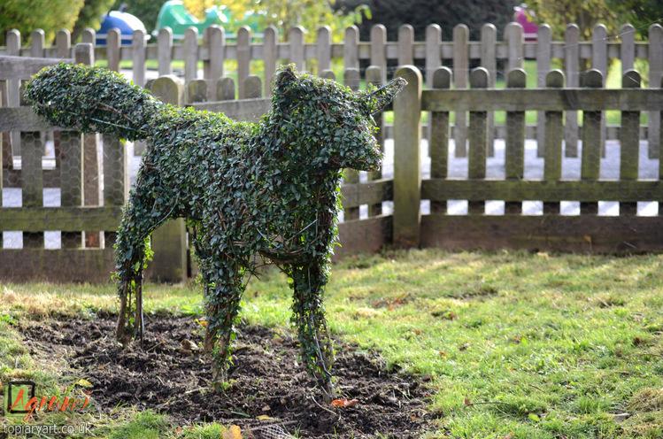 Topiary Fox