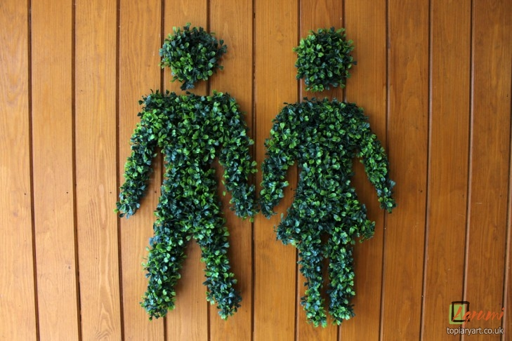 Topiary signs