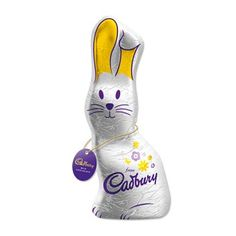 Cadbury's chocolate bunny