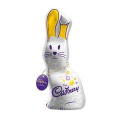 Cadbury's chocolate bunny