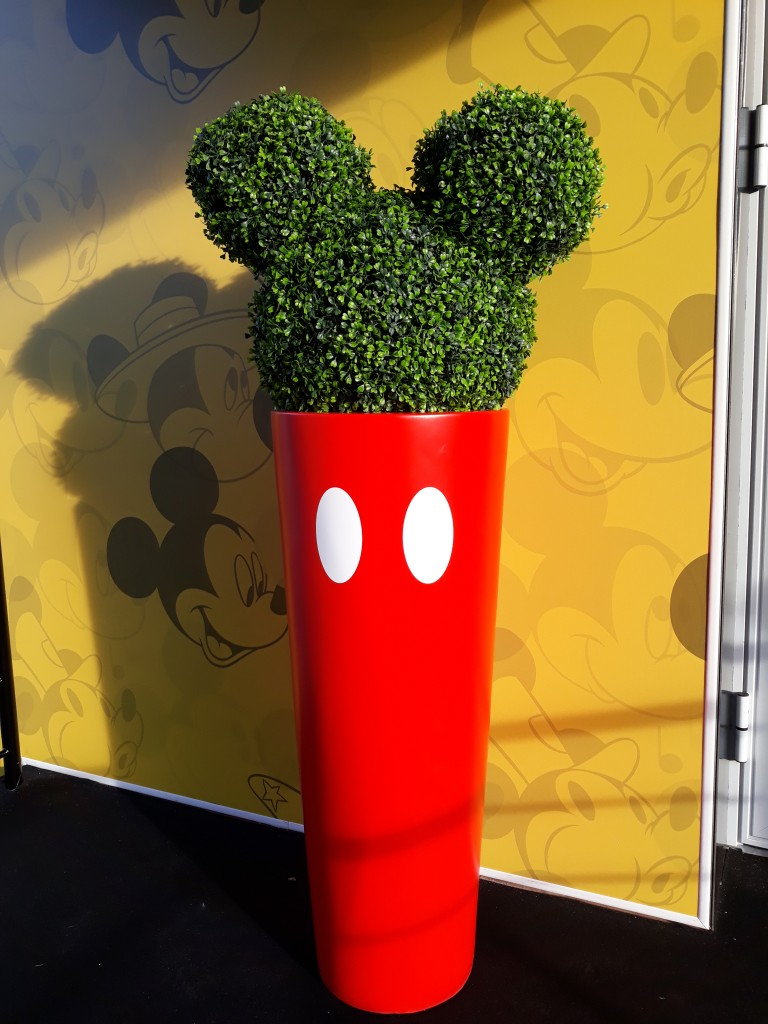 Disney Mickey Mouse Topiary Sculpture