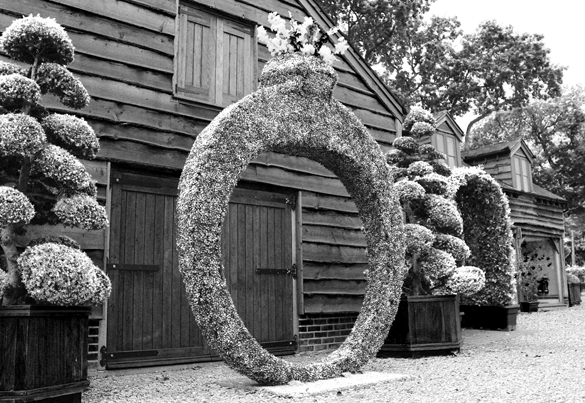 Giant Artificial Topiary Ring