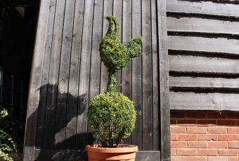 Topiary Tottenham Hotspur Badge