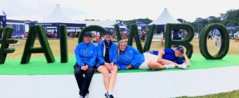 #AIGWBO letters at the Womens British Open 2019