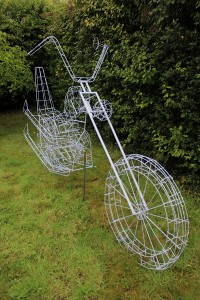 wire frame bike